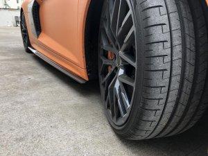Cstar Seitenschweller Erweiterungen Carbon Gfk für Audi R8 4S 2015 -