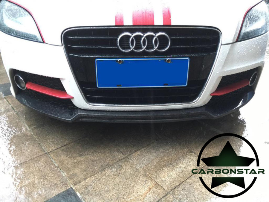 Cstar Frontlippe Carbon Gfk für Audi TT 8J...