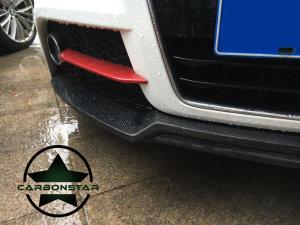 Cstar Frontlippe Carbon Gfk für Audi TT 8J Modellpflege MP 2010-2014