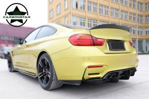 Cstar Carbon Gfk Heckspoiler Kofferraumlippe ähnlich PSM 2 passend für BMW F82 M4