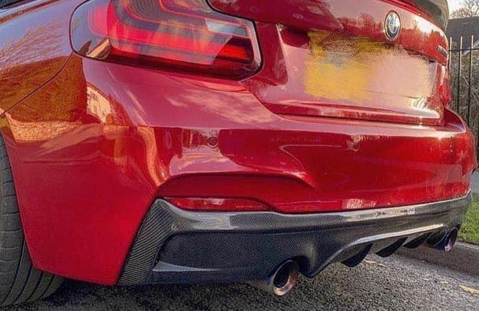 Cstar Carbon Gfk Heckdiffusor V3 passend für BMW F22...