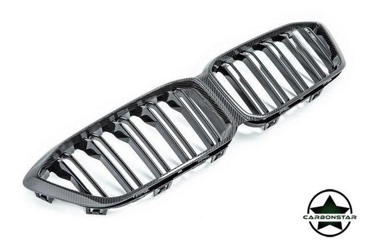 Cstar Carbon ABS Nieren Grill Doppelsteg passend für BMW M2 F87 Competition LCI