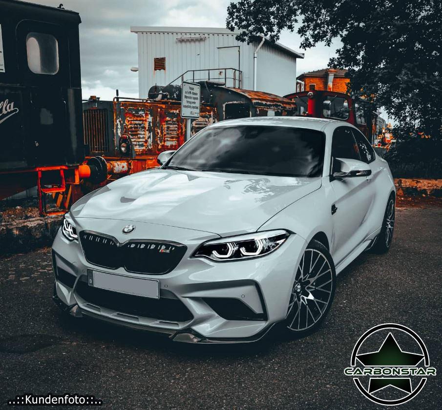Cstar Carbon Gfk Frontlippe CS 2 passend für BMW M2 F87 Competition