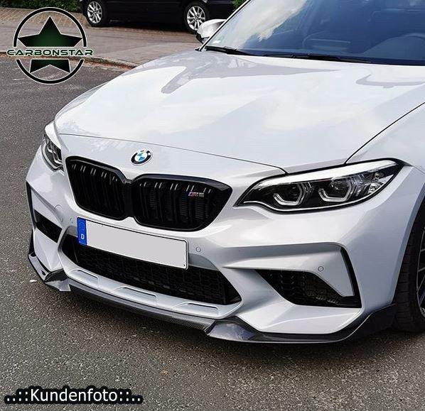 Cstar Carbon Gfk Frontlippe CS 2 passend für BMW M2...