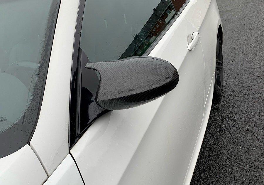 Cstar Carbon ABS Spiegelkappen passend für BMW E81...