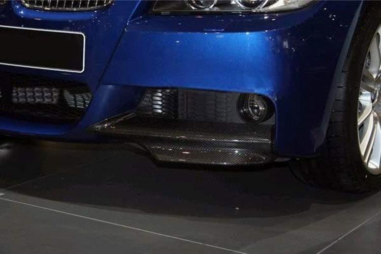 Cstar Gfk Splitter Hochglanz Schwarz passend für BMW E90 E91 05-08 mit M PAKET