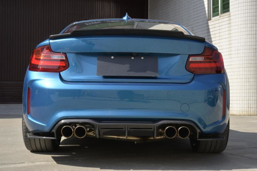 Cstar Forged Carbon Gfk Heckdiffusor Diffusor wie MTC passend für BMW M2 F87 + Competition