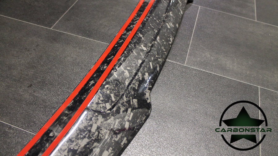 Cstar Heckspoiler Forged Carbon Gfk V5.0 PSM Big Style passend für BMW F30 F80 M3