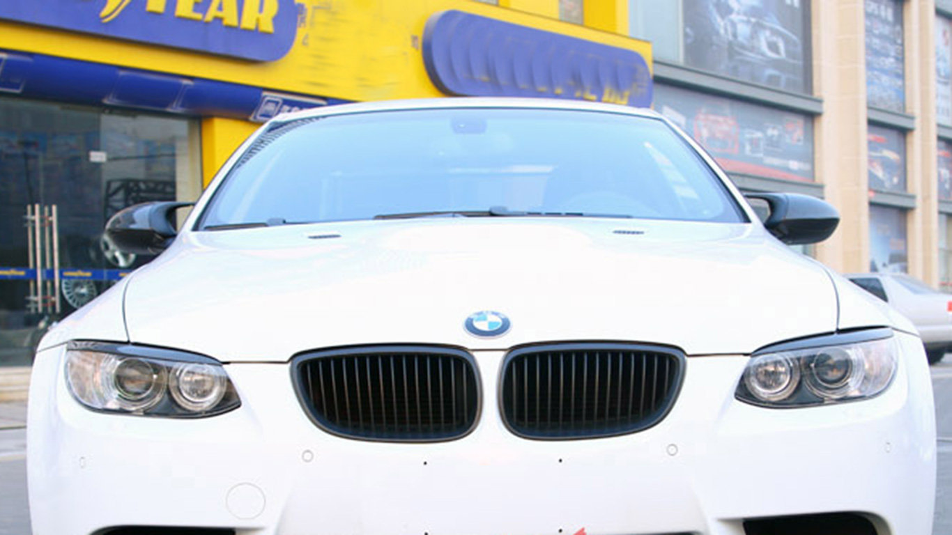 Cstar Carbon Scheinwerfer Abdeckung Blenden Cover passend für BMW E90 E92 E93 M3 + E92 VFL