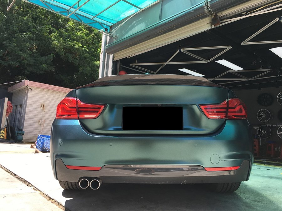 Cstar Heckspoiler Forged Carbon Gfk PSM Big Style 2...
