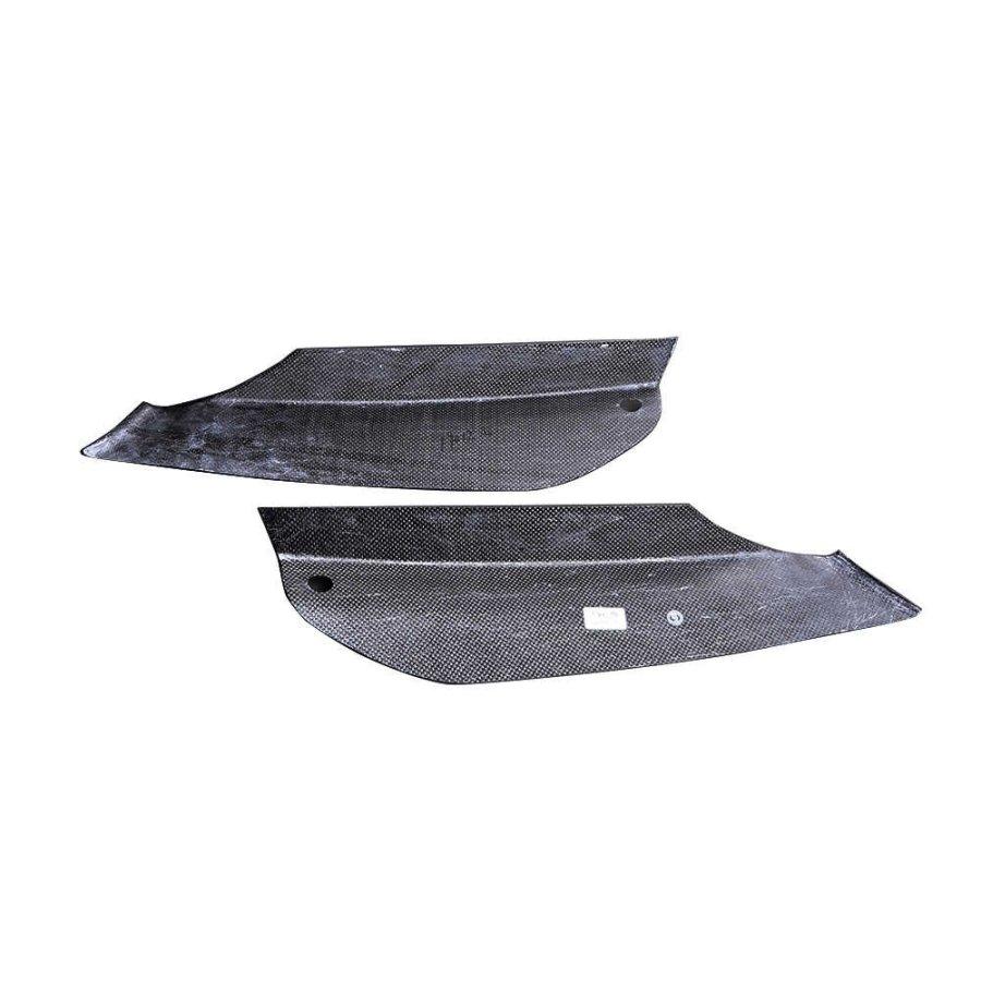 Cstar Voll Carbon Splitter Flaps Nebelscheinwerfer Abdeckung Einsätze vorne passend für BMW F90 M5