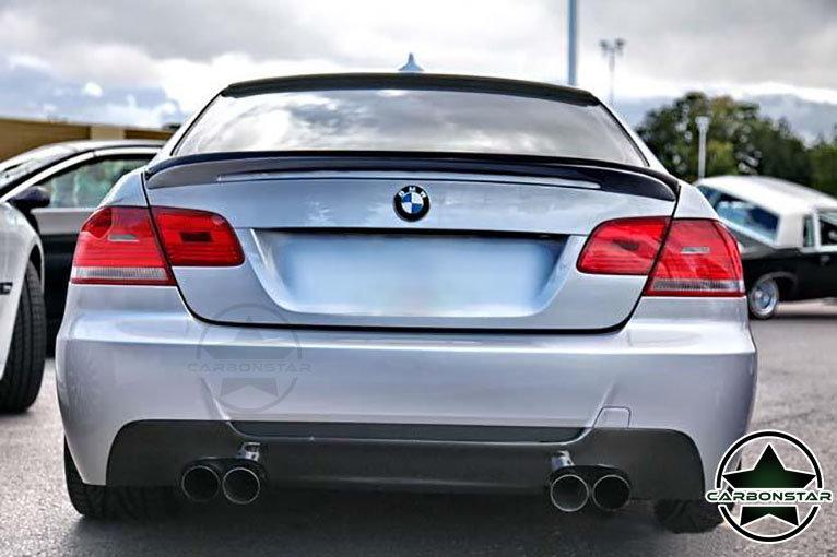 Cstar Carbon Gfk Heckansatz DTM Spoiler passend für BMW E92 auch M3