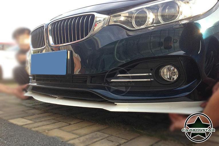 Cstar Gfk Frontlippe V2 passend für BMW F32 F33 F36 Luxury Line