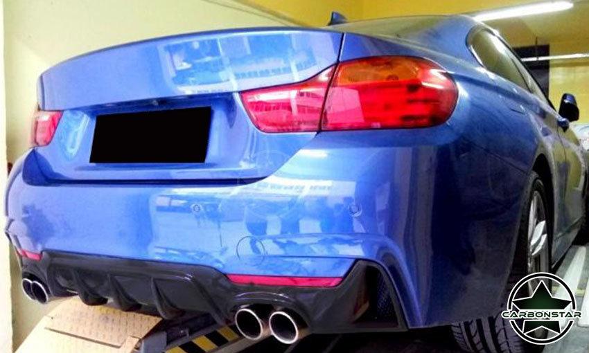 Cstar Gfk Heckdiffusor passend für BMW F32 F33 M Paket