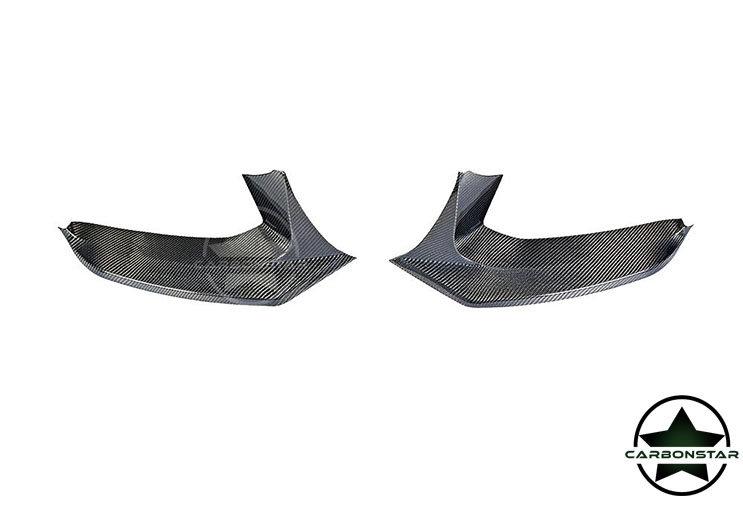 Cstar Carbon Gfk Splitter Flaps V2 passend für BMW...
