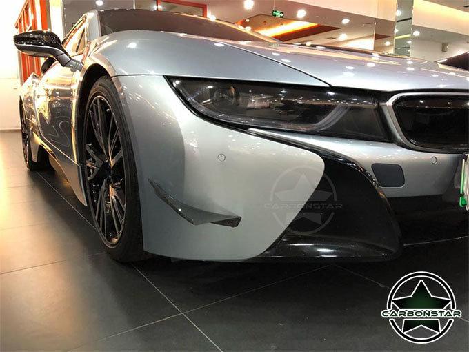 Cstar Carbon Gfk Splitter Flaps Fins passend für BMW I8