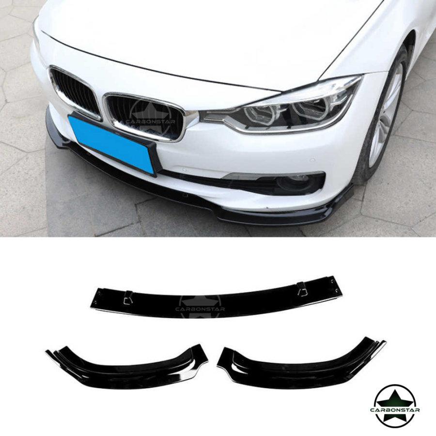 Cstar Frontlippe ABS 3tlg Schwarz Glanz passend für...
