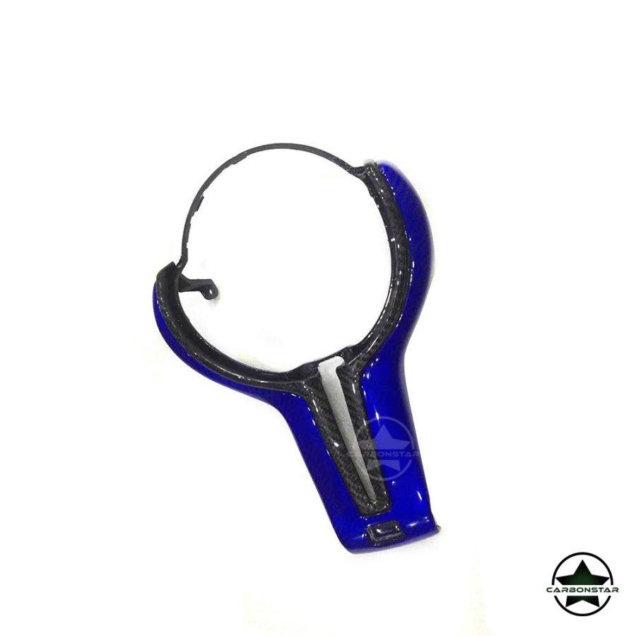 Cstar Blau Carbon ABS Lenkradabdeckung passend für...