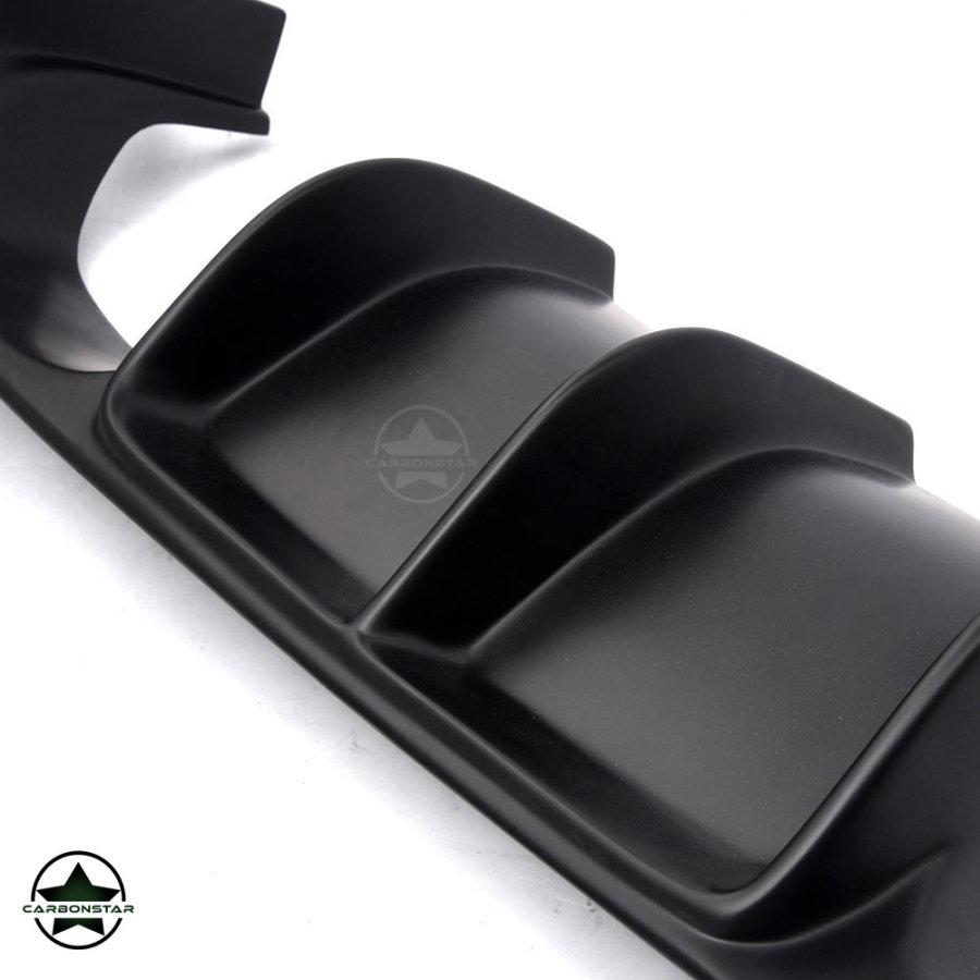 Cstar ABS Heckdiffusor Vorsteiner Style 3tlg. passend für BMW F80 M3 F82 F83 M4 - Matt Schwarz