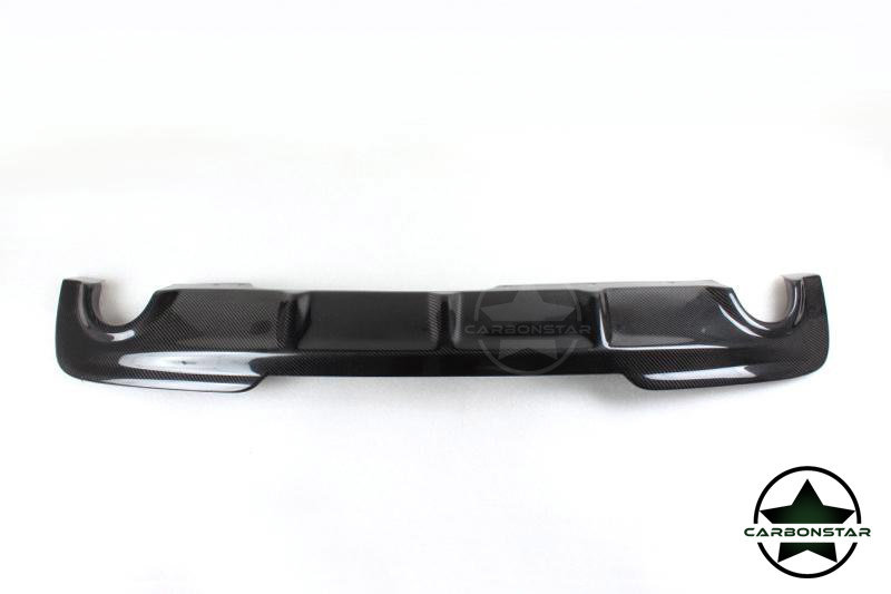 Cstar Carbon Gfk Performance V3 Heckdiffusor passend für BMW F10 F11 535i  535ix 535d 535dx M Paket