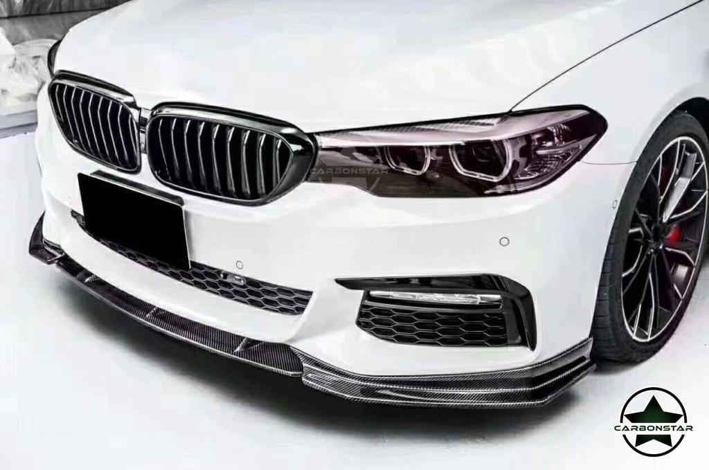 Cstar Carbon Gfk Frontlippe 3tlg. passend für BMW G30 G31 M Paket