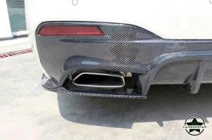 Cstar Carbon Gfk Diffusor Abdeckung Einsätze hinten passend für BMW G30 G31 M Paket