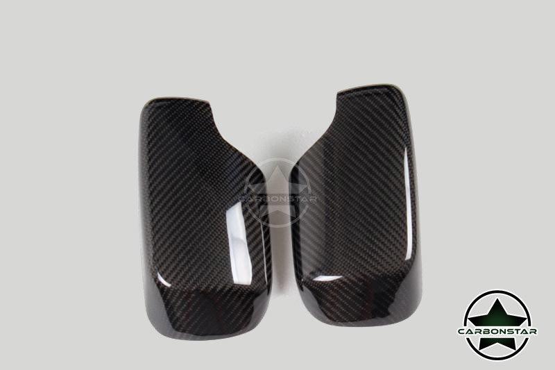 Cstar Carbon ABS Austausch Spiegelkappen passend für BMW E60 E61 E63 E64