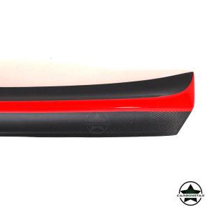 Cstar Carbon Gfk CSL Heckansatz Spoiler Red Line passend für BMW E46 Coupe + M3