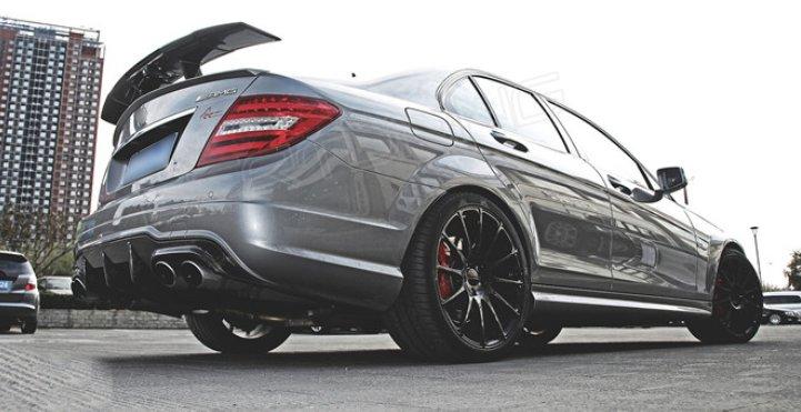 Cstar Carbon Gfk Heckspoiler Mercedes Benz W204 C204 C63...