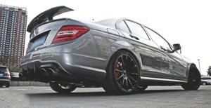 Cstar Carbon Gfk Heckspoiler Mercedes Benz W204 C204 C63 COUPE