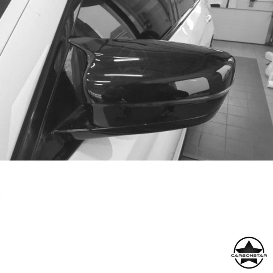 Cstar ABS Glanz Schwarz Austausch Spiegelkappen Typ M5 passend für BMW G30 G31