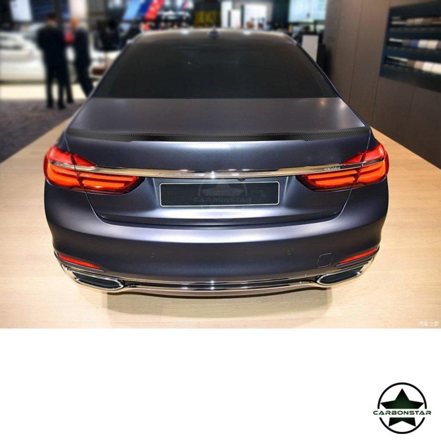 Cstar Carbon Gfk Heckspoiler schmal passend für BMW G11 G12