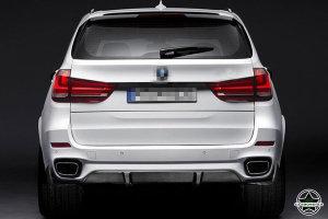 Cstar Caron Gfk Performance Heckdiffusor passend für BMW X5 F15 M Paket