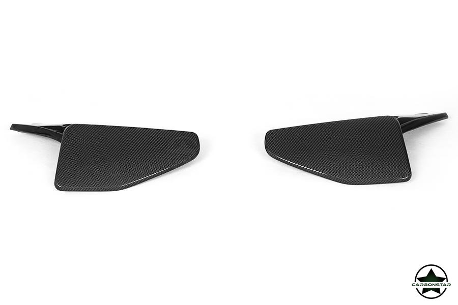 Cstar Caron Gfk Wings Splitter Stoßstange hinten passend für BMW X5 F15 M Paket