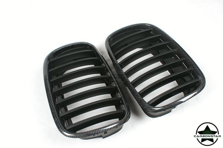 Cstar Carbon ABS Nieren Grill passend für BMW X5 X6...