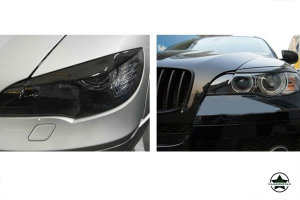 Cstar Carbon Gfk Scheinwerferabdeckung passend für BMW X6 E71