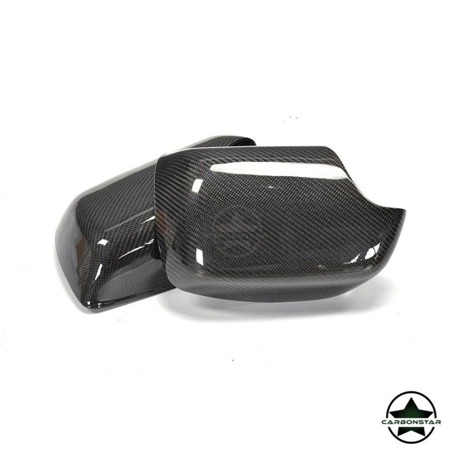 Cstar Carbon Abs Spiegelkappen Abdeckung passend für BMW X5 E53