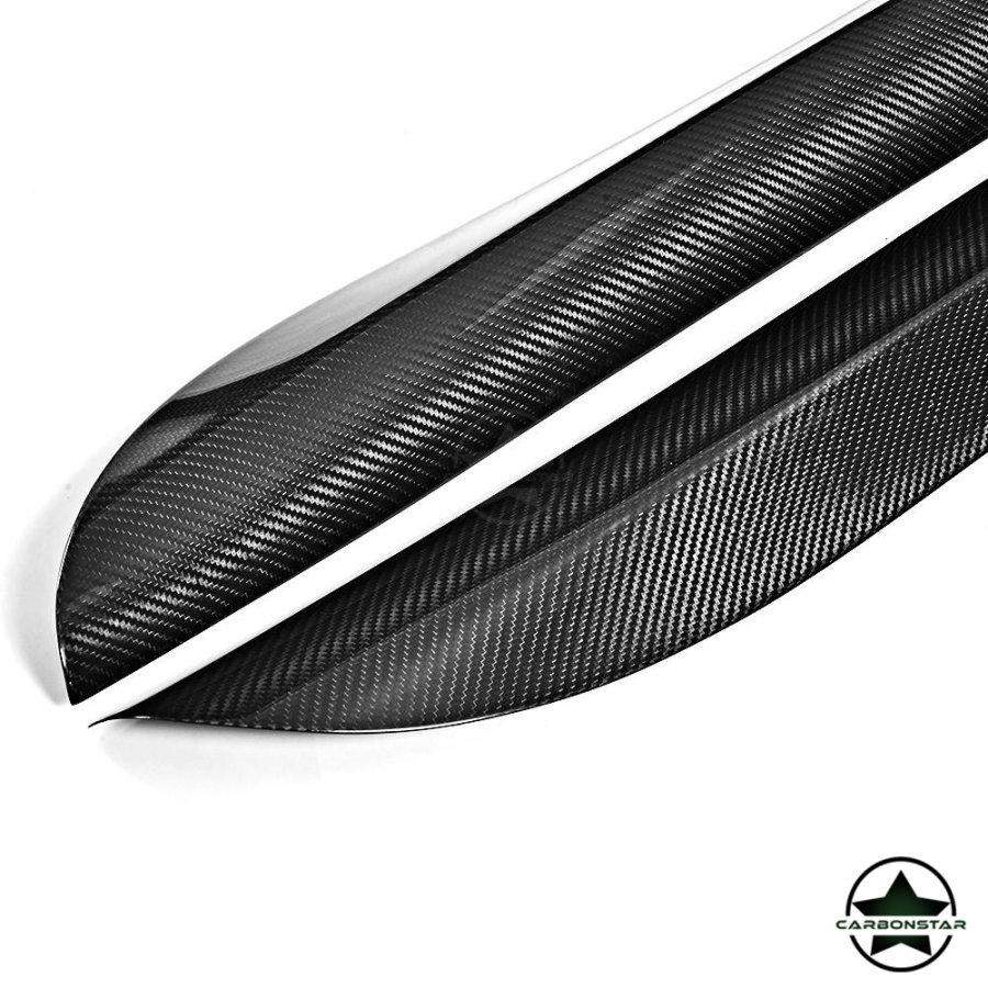 Cstar Carbon Gfk Seitnschweller Performance passend für BMW X5 F15 X5M M Paket