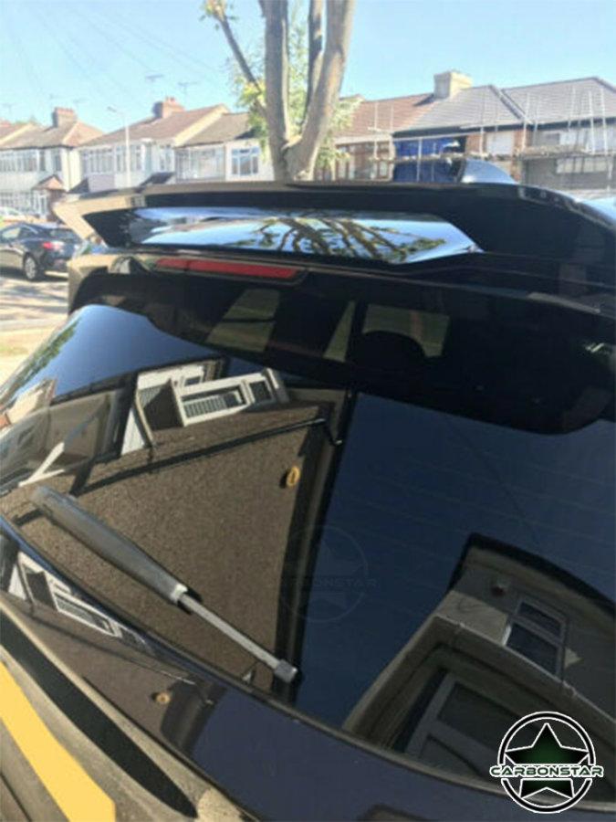 Cstar ABS Dachspoiler Spoiler Schwarz Glanz passend für BMW X3 G01
