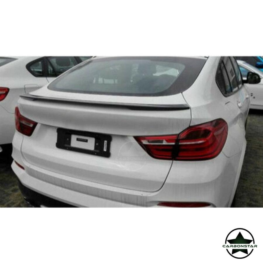 Cstar ABS Heckspoiler Schwarz Glanz Spoiler Performance passend für BMW X4 F26