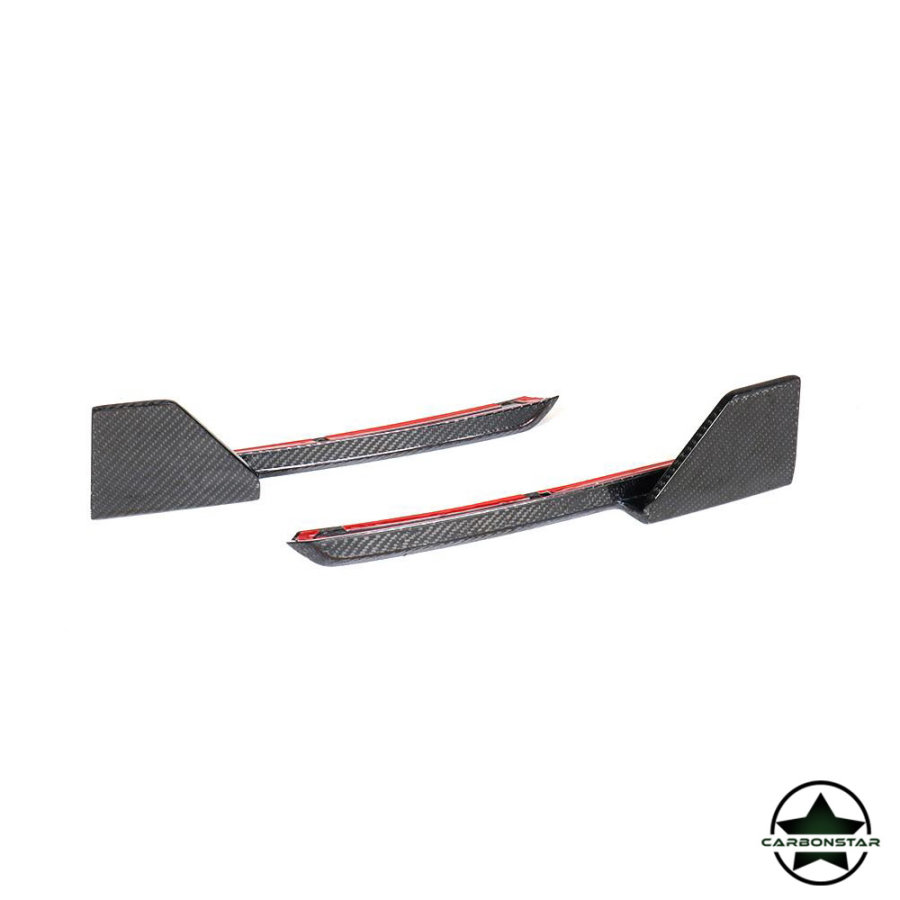 Cstar Carbon Gfk Splitter Flaps vorne passend für BMW X3 G01
