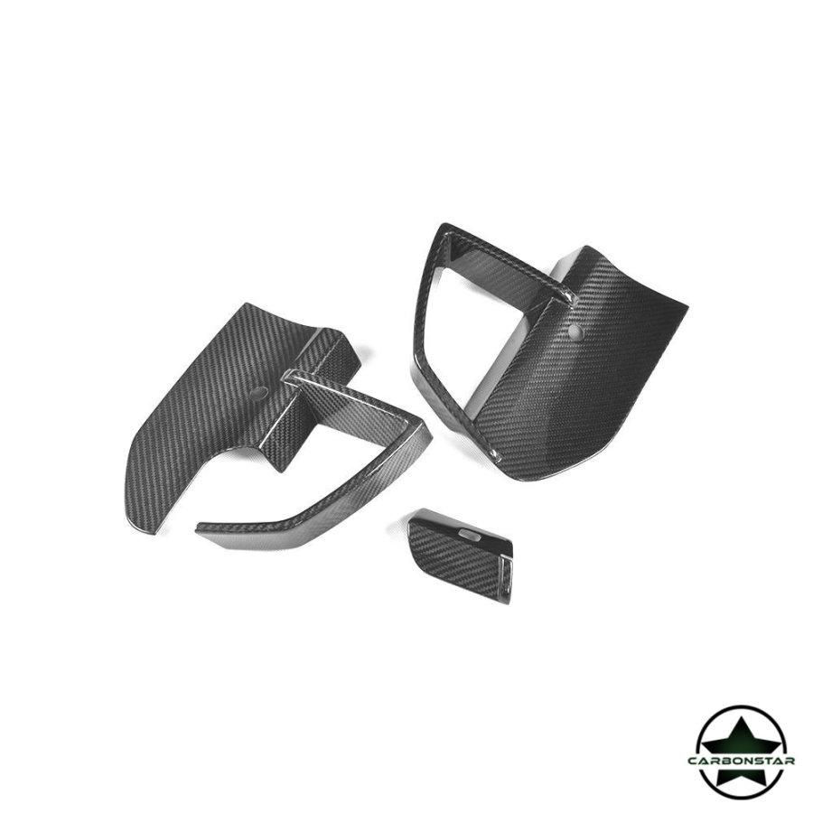 Cstar Carbon Lufteinlass vorne Abdeckung passend für BMW  X3 G01 M Paket X3M