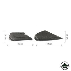 Cstar Carbon Sitz seitliche Abdeckung Cover für Mercedes Benz G Klasse G55 G63 G65 AMG Mopf 2019
