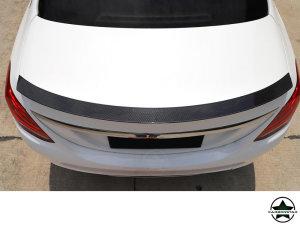 Cstar Carbon Gfk Heckspoiler V2 für Mercedes Benz W205 Limo C63