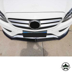 Cstar Carbon Gfk Frontlippe für Mercedes Benz W205 C205 Coupe C43 AMG Sportpaket