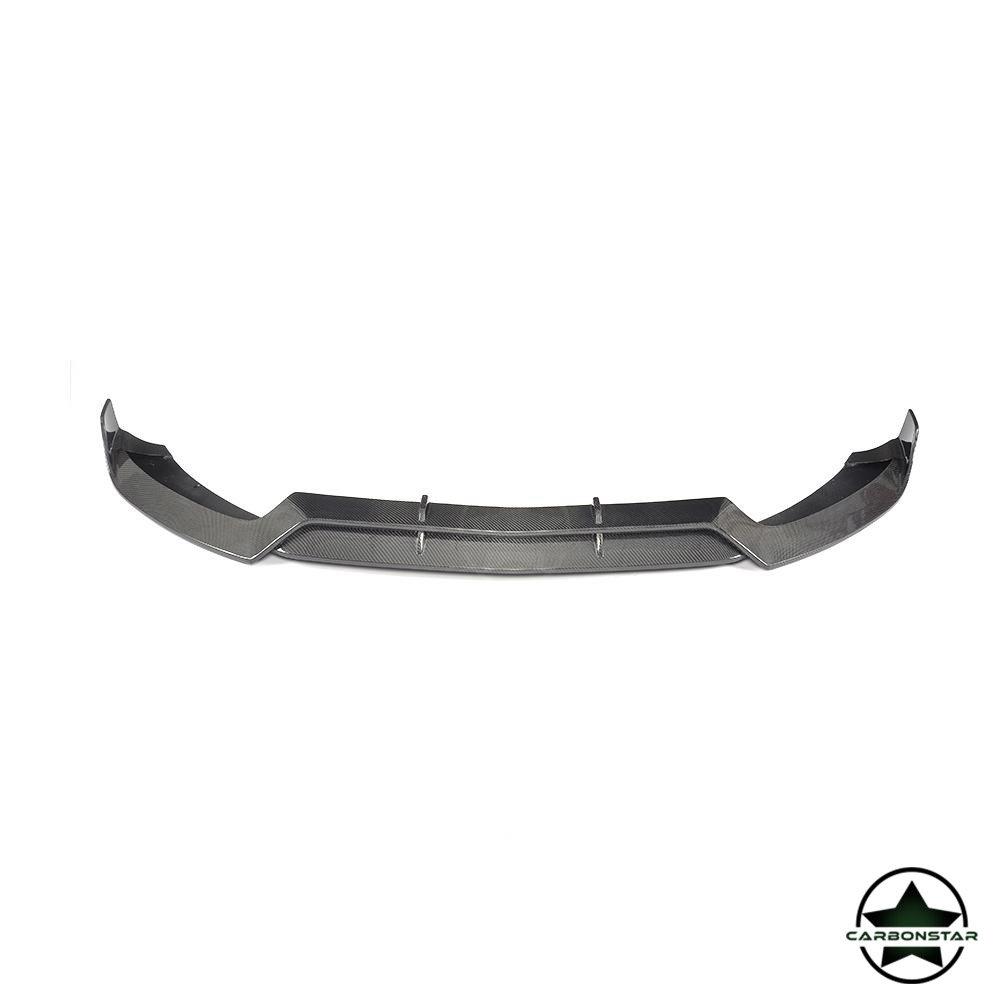 Cstar Carbon Gfk Frontlippe für Mercedes Benz W205 C205 Limo C43 AMG Sportpaket