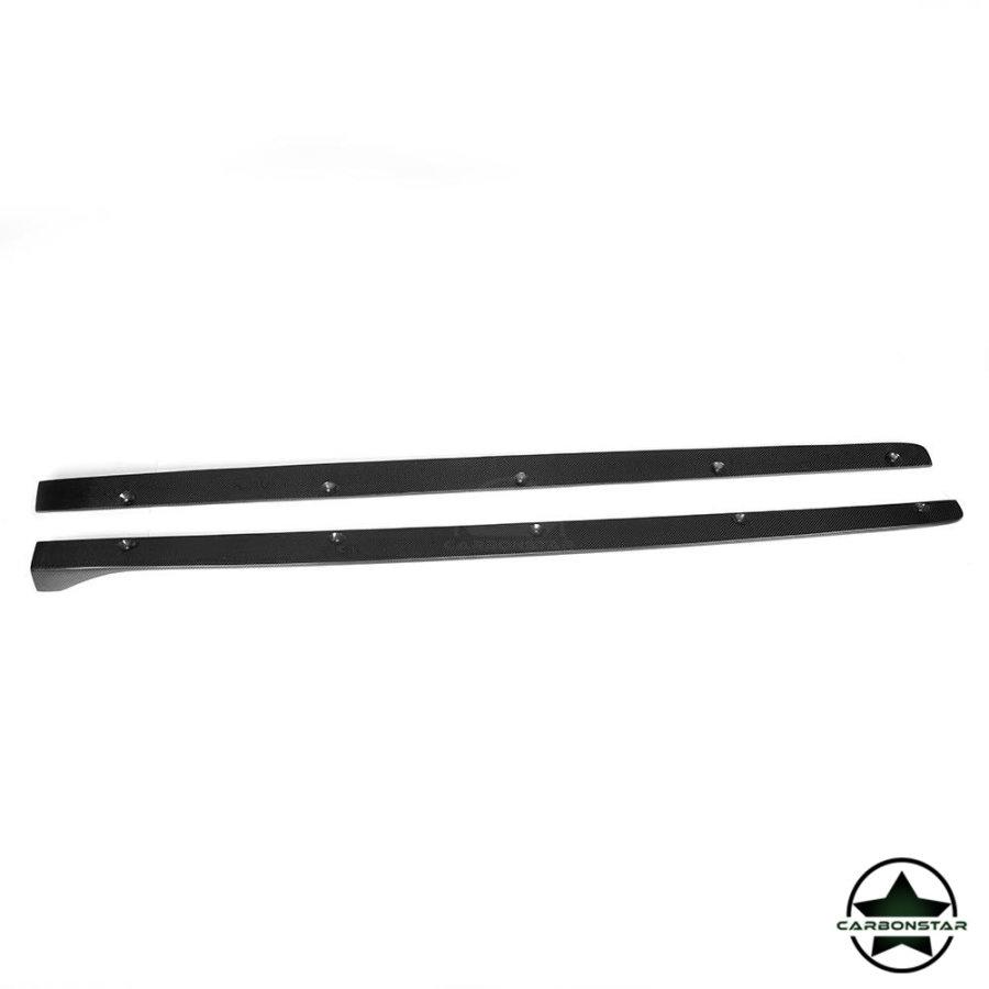 Cstar Carbon Gfk Seitenschweller für Mercedes benz W205 Limo AMG Sportpaket