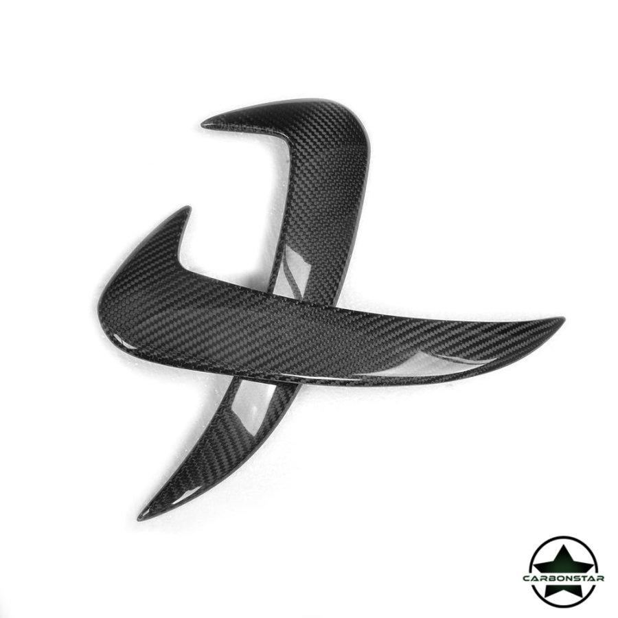 Cstar Carbon Gfk Canards Abdeckung hinten für Mercedes Benz W205 AMG Sportpaket C63 Limo