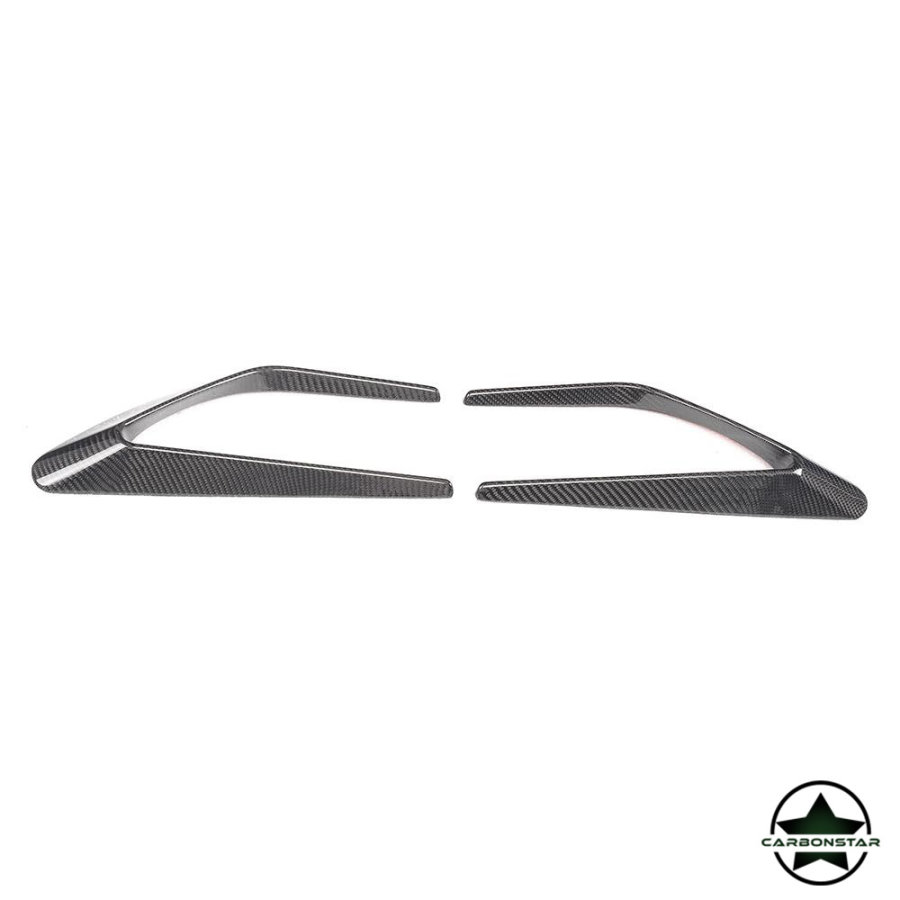 Cstar Carbon Gfk Canards Abdeckung vorne für Mercedes Benz W205 AMG Sportpaket C63 Limo