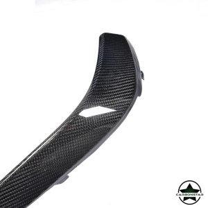 Cstar Carbon Gfk Abdeckung Stoßstange für Mercedes Benz W205 C205 AMG Sportpaket C63 Coupe Limo